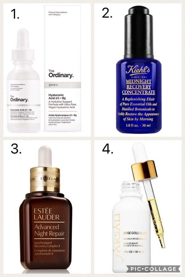 oils and serums